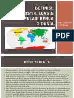 Definisi, Karakteristik, Luas & Populasi Benua