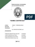 Monografía Bomba Centrifuga