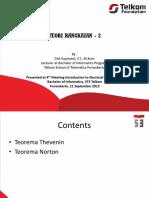 Week 4 Teori Rangkaian 2 Thevenin Dan Norton