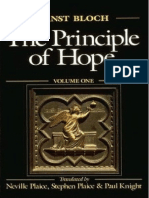 Ernst Bloch the Principle of Hope Vol1