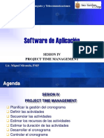 Sesion IV - Project Time Management