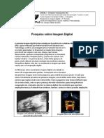 Pesquisa Sobre Imagem Digital