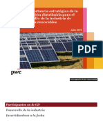 PwC Energia a Debate Generacion Distribuida v 20160728