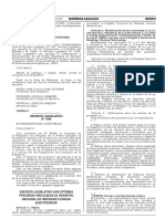 Decreto Legislativo 1306