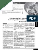 Determinación de los principales gastos deducibles sujetos a límite - cierre 2014.pdf
