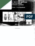 Técnicas gráficas para arquitectos y diseñadores