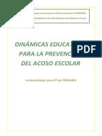 Dinámicas Contra El Bullying 4 PRIMARIA Centro Joven Albacete