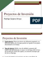Curso - Proyectos de Inversión