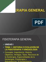 Unidad 1fisioterapia General