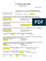 Guía de Programación Orientada a Objetos