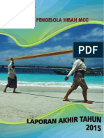 Laporan Kegiatan Satker Pengelola Hibah MCC Indonesia-Bappenas Tahun 2015