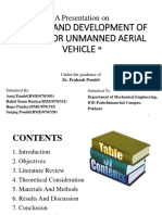 Presentation on UAV