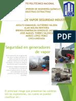 Seguridad en Generadores de Vapor