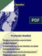 protectia familiei