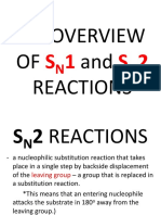 An Overview of Sn1 and Sn2 Reactions