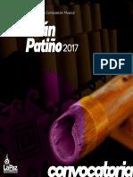 XV Concurso Municipal de Composición Musical Adrian Patiño 2017