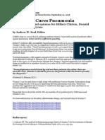 Vitamin C Cures Pneumonia