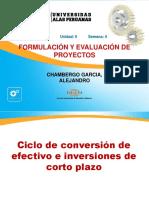 Semana 4.3 Formulacion y Evaluacion de Proyectos- Ciclo de Conversión de Efectivo