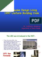 UBC97 Seismic Design Presentation (v2)