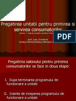 1 Pregatirea Unitatii Pentru Servirea Consumatorilor Aranjarea Farfuriilor