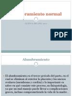 Alumbramiento normal y patològico.ppt.pps