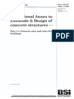 BS NA en 1992-1-1_ UK National Annex to Eurocode 2. Design of Concrete Structures