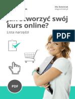 Jak stworzyć swój kurs online