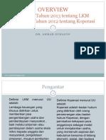 Perbandingan LKM Dan KSP