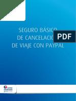 Seguro cancelación de viajes PayPal gratuito