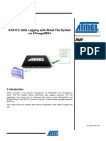 Data Logging With Atmel File System