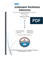 Sejarah Perkembangan Kurikulum Indonesia