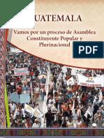 Vamos Por Un Proceso de Asamblea Constituyente Popular y Plurinacional - CODECA