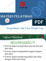 101017864 Mengenal Alat Ukur Height Gage