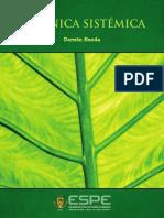 Botánica sistémica