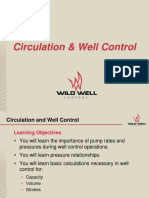 Circulation and Well Control