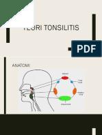 Tonsilitis Teori