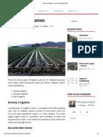 Types of Irrigation - Civil Engineering Blog