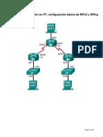 Lab 2 Configuracion Ripv2 y Ripng
