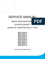 Service Manual of Multi Outdoor Units High Efficiency