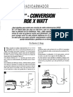 Px Conversion Roe Por Watt