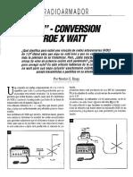Px Conversion Roe Por Watt
