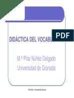 VOCABULARIO_presentación