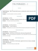 Latin Phrases - englishlabsneo.com