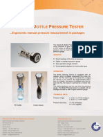 Steinfurth Bottle Pressure Tester Pressure Measuring