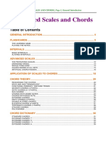 Advanced Scales and Chords