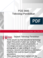 Kuliah 1a - Teknologi Pendidikan