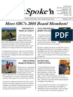 January 2005 Outspoke'n Newsletter, Cyclists of Greater Seattle