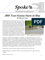 March 2005 Outspoke'n Newsletter, Cyclists of Greater Seattle