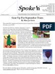 September 2005 Outspoke'n Newsletter, Cyclists of Greater Seattle