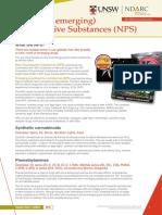 NDA073 New Psychoactive Substances (NPS)
